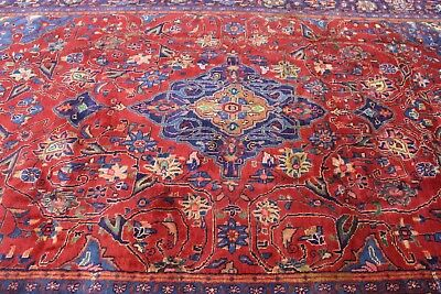 A WONDERFUL OLD HANDMADE VISS ORIENTAL CARPET (375 x 245 cm)