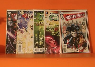 Bargain Dc Mixed Comic Lot X 10 With Bags & Boards - See Both Photos