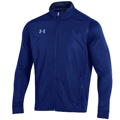 Under Armour Men's Royal Blue UA French Terry Fitted Full Zip Jacket