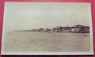 1910's Lahaina Town Shoreline View Maui TH Hawaii