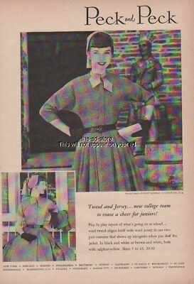 1952 Farmer's Museum Cooperstown NY-1950s Peck Fashion/Fashion/Style Ad