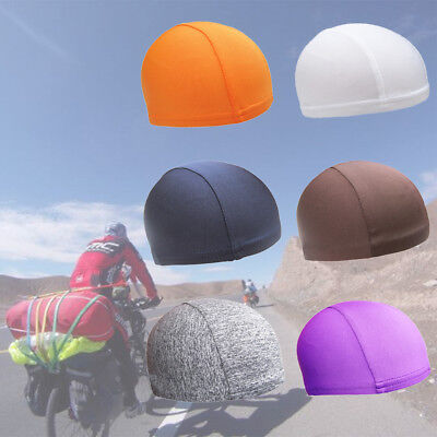 Elastic Anti-sweat  Motorcycles Cycling Cap Balaclava Head-wear Helmet Cap AU