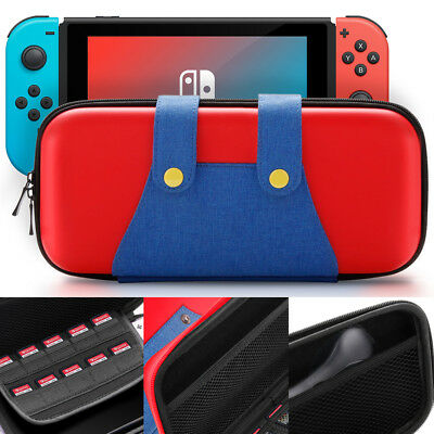 Travel Protective Storage  Mario Bag For Nintendo Switch Accessories Carry Case