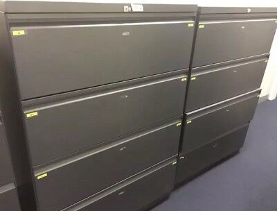 Lateral Filing Cabinet 4 Drawer ( Can Delivery)