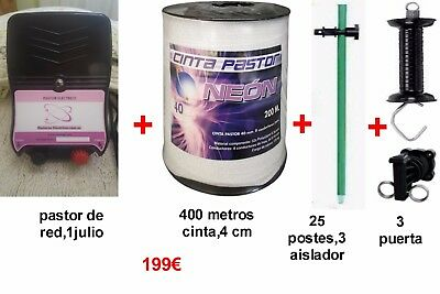 Kit Completo Pastor Electrico A Red,1 Julio,9200 Voltios