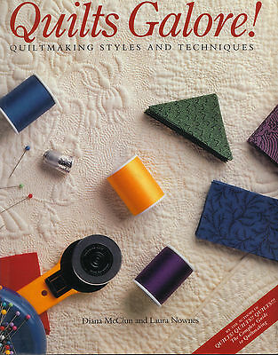 Quilts Galore! Quiltingmaking Styles & Techniques Quilting Book Mcclun & Nownes