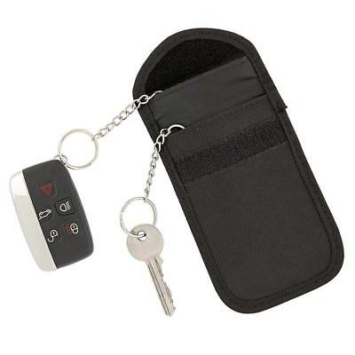 Latest Keyless Fob Blocking Pouch Signal Blocker Car key Bag UK RFID Technology