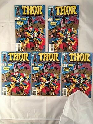 THOR CORPS (5) FIVE of # 1 1993