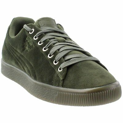 b93f3ce66f2edf PUMA SUEDE CLASSIC Sock Men s Size 7.5 Olive Night Athletic Shoes ...
