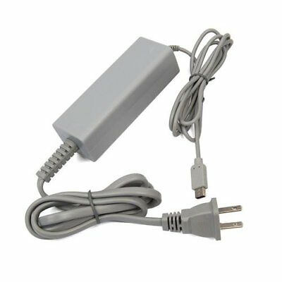 US Plug AC Power Supply Cable Wall Charger Adapter For Nintendo Wii U Gamepad