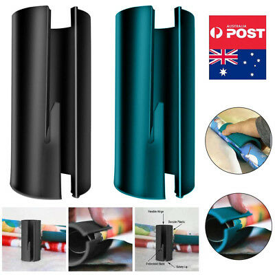 Mini Sliding Wrapping Paper Cutter Craft Quick Seconds Wrap Paper Cutting Tool