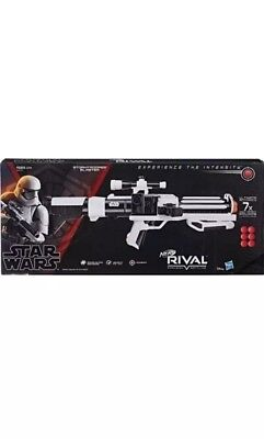 Nerf Rival Star Wars Stormtrooper Blaster 2018 Hasbro Brand New Free Shipping.