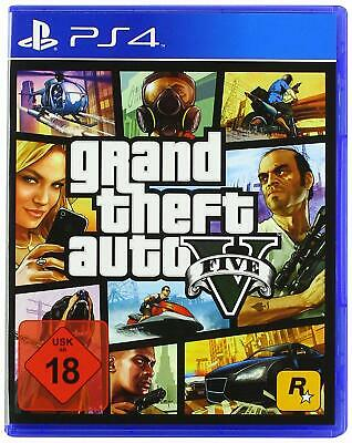 PS4 Juego Grand Theft Auto V Gta 5 Neuware