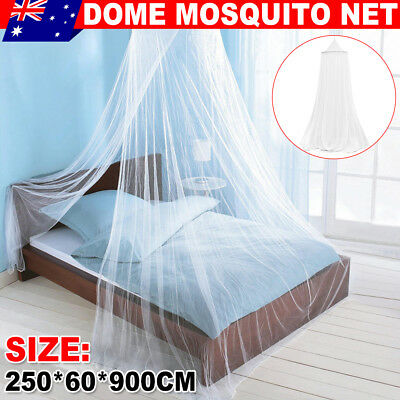 Dome Lace Mosquito Net Bed Canopy Netting Double Single Queen Insect Protection