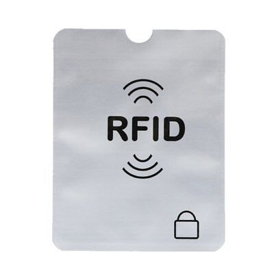 Useful Credit Card Passport Cover RFID Protector Shielded Sleeve Card Case XU