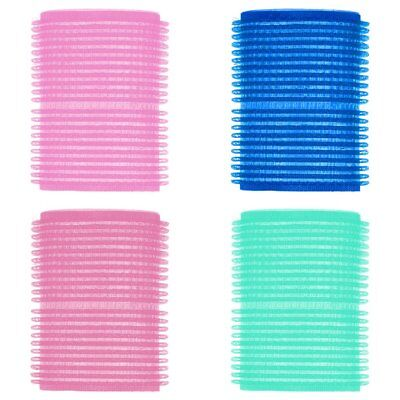 6Pcs Useful Large Hair Salon Rollers Curlers Tools Hairdressing Tool Soft DIY XU