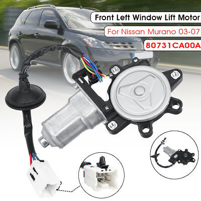 Front Left Driver Side Window Lift Motor For Nissan Murano 2003-2007 80731CA00A