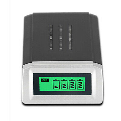 4 Slots LCD Smart Battery Charger For AA /AAA NiCd NiMh Rechargeable Batteries