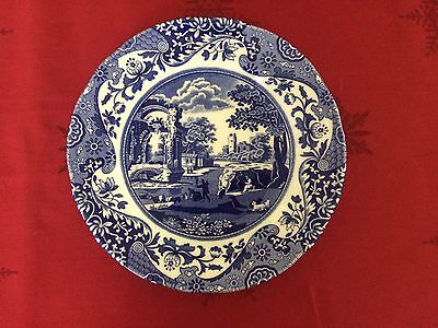 New Set Of 6 Spode Blue Italian Salad Or Dessert Plate Made In England 20Cm