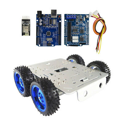 4WD WiFi Driver Kit,Robot Platform Robot Tank Car Chassis for Arduino