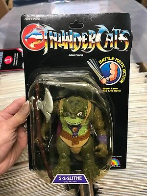 Vintage 1985 1986 LJN Thundercats S-S-Slithe  Factory Sealed Action Figure