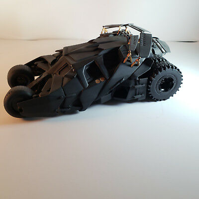 DC Direct Batman Begins Batmobile Limited Edition Replica with Rotating Base.