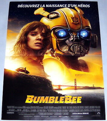 BUMBLEBEE Hailee Steinfeld 1980s Autobot Beetle Sci-fi  SMALL French POSTER