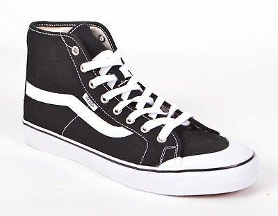 e65a9a32e4 VANS BLACK BALL Hi SF Mens White Sole Comfort Hi Top Classic Trainer ...