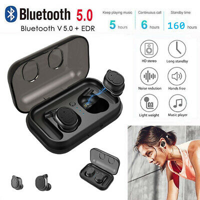 AU Mini TWS True Wireless In-Ear Stereo Bluetooth V5.0 Earphones Earbuds Headset