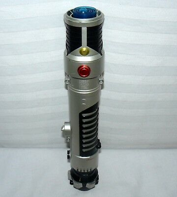 "Hasbro Star Wars 40"" Spring Loaded Obi Wan Blue LightSaber 2006 Sci Fi Toy Sword"