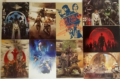 Star Wars ROGUE ONE Series 1  MONTAGES  Trading card Set of 9