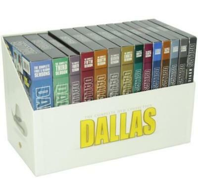 Dallas The Complete TV Series Season 1-14 DVD Plus 3 Movies Box Set