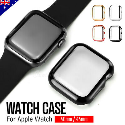 Apple Watch Series 5 4 40&44mm Full Case Cover & Built-in Glass Screen Protector