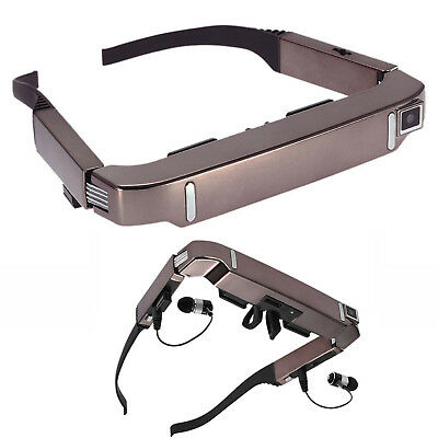 """80"""" New Smart 3D VR Video Glasses Android 4.4 Bluetooth Virtual With 5MP Camera"""