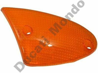 Front left indicator lens Amber Aprilia SR Leonardo 50 125 150 blinker LH orange