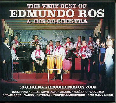 The Very Best Of Edmundo Ros & His Orchestra - 2 Cd Box Set - Brazil & More