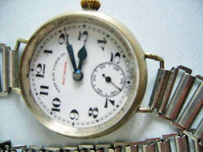 Seltene West End Watch Co.**Modell MATCHLESS** Handaufzug**Vintage