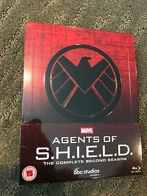Marvel Agents of S.H.I.E.L.D Shield The Complete 2nd Season SteelBook New