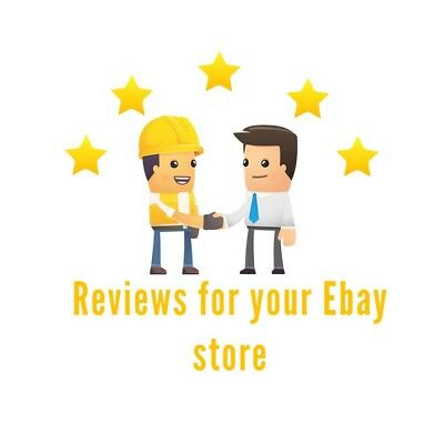 Positive review & 5 stars rating for your Ebay Store