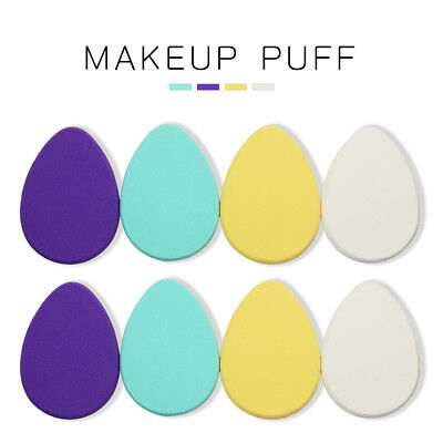 4/8PCS FACE FOUNDATION Cosmetic Facial Sponge Powder Puff