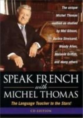 Speak French With Michel Thomas AUDIO BOOK CD foreign language teacher words