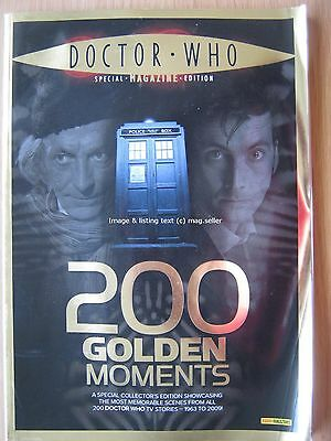 Dr Doctor Who magazine 200 Golden Moments 1963 - 2009 Special Edition