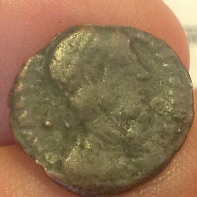 Metal Detector Find-Spain-Christian Roman Constantine Dynasty 305-363 AD NW43