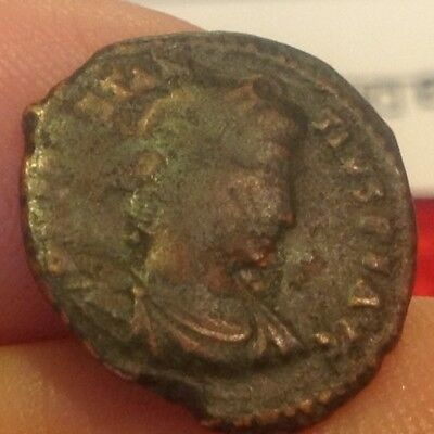 Metal Detector Find-Spain-Christian Roman Constantine Dynasty 305-363 AD D8