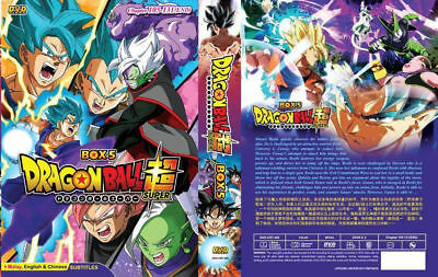 DVD Dragon Ball Super (Chapter 105-131 END)  English Subtitles Tracking Shipping