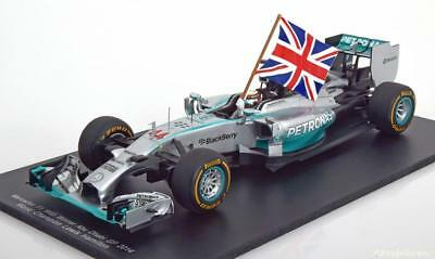1:18 Spark Mercedes F1 W05 Hybrid Winner Abu Dhabi World Champion 2014