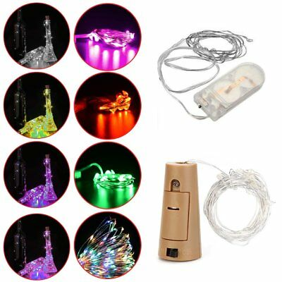 10/20 LED Silver/Copper Wire String Party Christmas Wedding Fairy Light Lamp IU