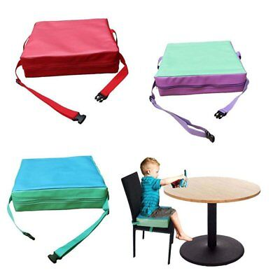 Portable Kids Dining Chair Highchair Booster Cushion Pad Baby Booster Seat IU