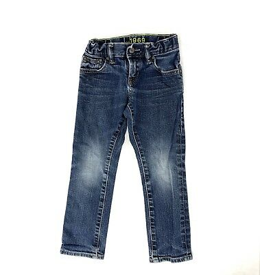 Gap Kids Size 5 Regular Straight Fit Blue Jeans