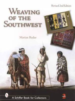 Southwest Native American Indian Weaving Collector Guide incl Rug Blanket Saddle